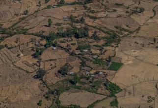15 villaggio veduta dalle Simien Mountain