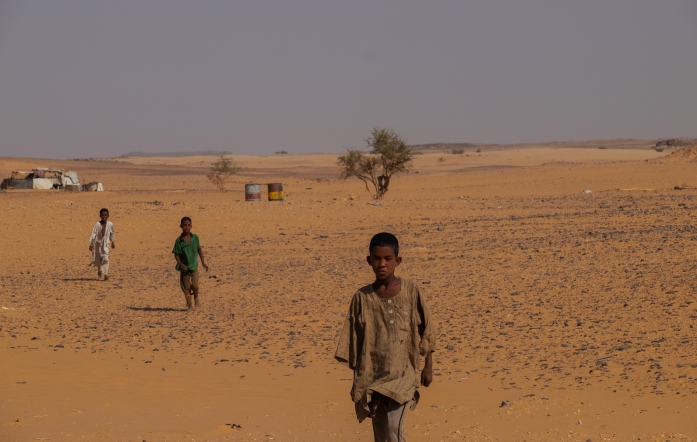 18 capanna nel deserto