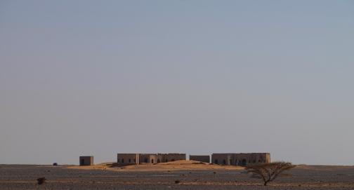 27 edificio abbandonato vicino le piramidi di Meroe