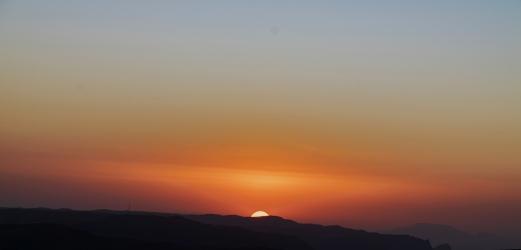 32 tramonto nelle Simien Mountain