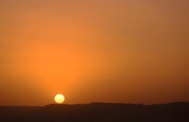 33 tramonto vicino la Sixth Cataract