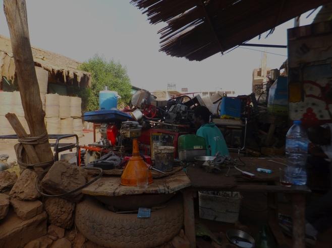 34 meccanico a Khartoum