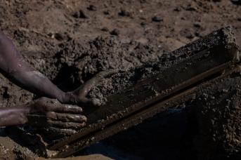 35 fabbricatore di mattoni a Khartoum