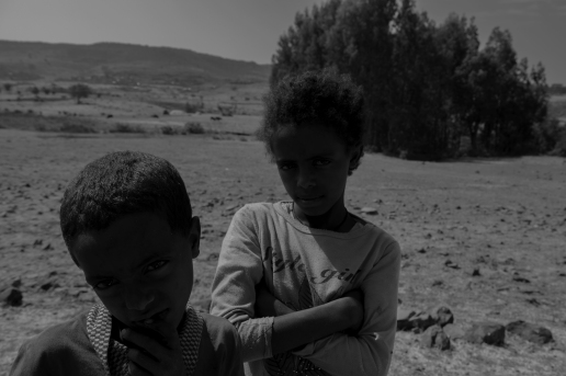 41 bambini per strada vicino Adis Zemen