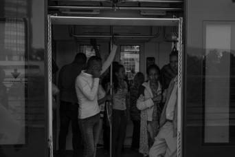 72 nuova linea ferroviaria sopraelevata ad Addis Ababa