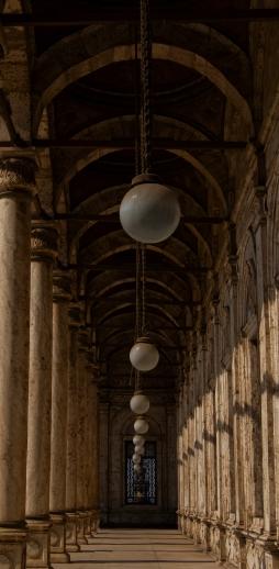 colonnato simmetria moschea